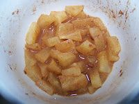 2 Minute Apple Pie in a Mug: Delicious. I made it without the cookie garnish