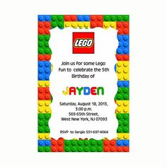 free printable lego birthday invitations party ideas lego