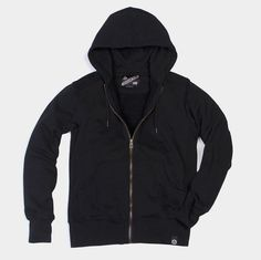 """Is """"The Greatest Hoodie Of All Time"""" Really The Greatest Hoodie Of american giant sweatshirt woman's hoodie - Woman Sweatshirts Dress Up Jeans, Revival Clothing, Fashion Essentials, Style Essentials, Full Zip Hoodie, Black Hoodie, American Giant, Hooded Sweatshirts, Leather Jacket"""