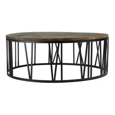 Adding some rustic charm to your home, the stylish round Greenwich coffee table will make a wonderful feature in your living space, providing ample surface spac