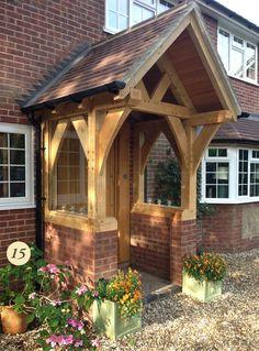 Cordial rehabilitated farmhouse porch design see post Front Door Porch, Porch Doors, Front Porch Design, Front Doors, Porch Canopy, Door Canopy, House With Porch, House Front, Porch Extension