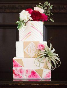 Bold + Modern Pink Wedding Inspiration | Green Wedding Shoes Wedding Blog | Wedding Trends for Stylish + Creative Brides