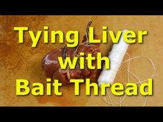 Bulletproof chicken liver rig - Stop losing bait when catfishing Carp Fishing Rigs, Trout Fishing Tips, Catfish Fishing, Pike Fishing, Fishing Knots, Fishing Bait, Bass Fishing, Fishing Tricks, Fishing Girls