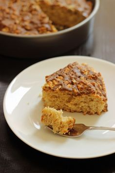 Oaty Maple Breakfast Cake - Bake up some maple-oat deliciousness in this easy to prep breakfast cake. - GCE