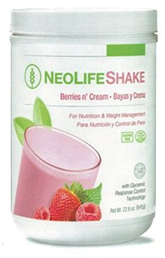 NeoLifeShake Creamy Rich Berries n' Cream 22.8 oz. * Find out more about the great product at the image link.