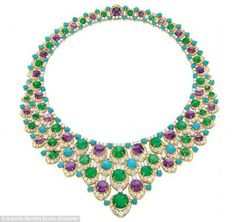 """BVLGARI """"Bib"""" Necklace ~ Once Owned by Elizabeth Taylor"""