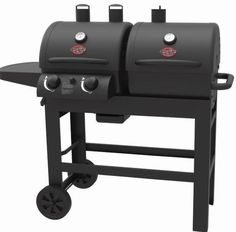 Dual Charcoal Grill Gas 2 Burner Outdoor Backyard Patio Deck Parties Cooking BBQ #nonbranded