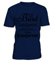 Best Grandparents Get Promoted to G64tee  Grandparents T-shirts