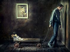"Hasselblad Masters Book II - ""My Dark Little Room"" by August Bradley, via Behance"