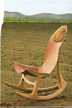 ..chair as sculpture