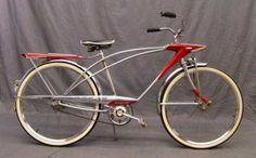 Lot: 1965 Sears Spaceliner Middleweight, Lot Number: 0020, Starting Bid: $170, Auctioneer: Copake Auction Inc., Auction: 19th Annual Antique & Classic Bicycle Auction, Date: April 17th, 2010 EDT