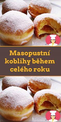 Masopustní koblihy behem celého roku Hamburger, Bread, Food, Brot, Essen, Baking, Burgers, Meals, Breads