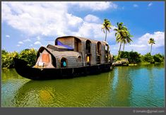 Kerala Eco Tour -Memorable trip for Kerala Periyar Eco Tourism. Let's come and enjoy the awesome Eco destinations of Kerala. Luxury Tents, Luxury Camping, Floating House, Canal Boat, India Tour, India Travel, Incredible India, Tourism, Beautiful Places