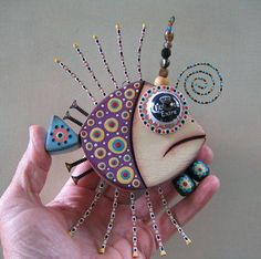 Twisted Guppy, Original Found Object Wall Art, Wood Carving, by Fig Jam Sudio Wood Crafts, Diy And Crafts, Arts And Crafts, Metal Art, Wood Art, Found Object Art, Fish Art, Recycled Art, Art Plastique