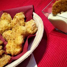Fish & chips al forno con maionese senza uova