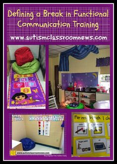 Defining a Break in Functional Communication Training by Autism Classroom News at http://www.autismclassroomnews.com