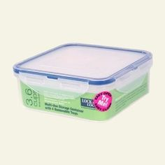 Lock & Lock container with dividers for making your own lunchables - I have one and LOVE it - need to buy a few more!