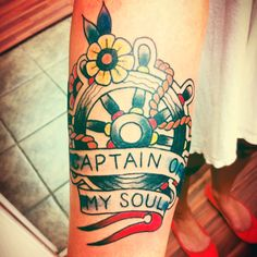 ".   Inspired by 'Invictus' by William Ernest Henley. ""I am the captain of my soul"