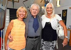 Brenda Ryan and Jo Cregan pictured with Niall Tóibín www.noelbrownephotographer.com — at Garter Lane Arts Centre.