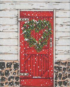 ©SWB 1081 18M 8X10 Cooper Oaks Designs  RED DOOR RED DOOR
