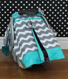 Car Seat Canopy by SassyMcTaffy on Etsy, $45.00