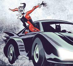 Harley an B-man