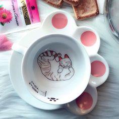 Sleepy Cat Mug Set