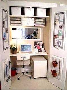 Si uno organiza: hasta un espacio reducido puede ser de mucha utilidad!