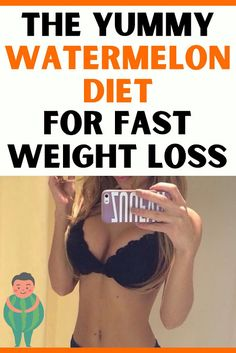 The diet is low-calorie and it works by making your body burn more calories than it takes in. You're required to eliminate most processed food while consuming watermelons which helps to detox your body. Lose Weight At Home, Losing Weight Tips, Watermelon Diet, Detox Your Body, Health And Fitness Tips, Fast Weight Loss, Diet Tips, The Help, Nutrition