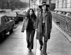 Forty years ago this month John Lennon and Yoko Ono went into a studio in New York and started recording a new record. Description from punkglobe.com. I searched for this on bing.com/images