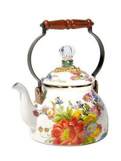 flower+market+tea+kettle+white