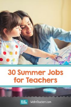 30 Summer Jobs for Teachers, From Summer Camps to Delivery Services. For many teachers, summer is about hustling. These companies all offer part- or full-time summer jobs for teachers looking for work. Teaching Skills, Teaching Jobs, Teaching Strategies, Summer Jobs For Teachers, Teacher Summer, Retirement Advice, Teacher Discounts, Self Employment, Preschool Worksheets
