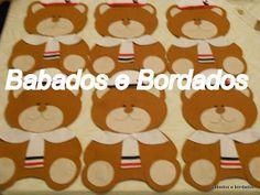 Babados & Bordados: Ursinhos Marinheiros