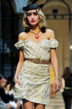 LFW SS2013: Vivienne Westwood Red Label Catwalk