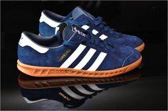 Adidas Hamburg (Navy / White)