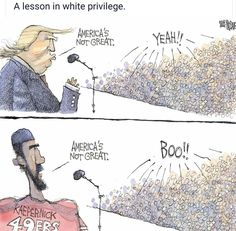 Donald Trump is the perfect example of white supremacy.