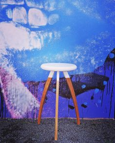Did you know our @turnerandturner stools are available in a variety of timber types and colours! How cool is that! Artwork credit @askewone #wood #stool #interiordesign #homewares #white #woodwork #woodworking #furniture #scandinavianstyle #furnituredesign #industrial #homedecor #modernfurniture #simple #minimalist #mural #streetart #graffitti #australianmade #australiandesigner #perthpop #melbourneblogger by turnerandturner