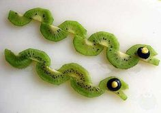 snake shaped fruit snack