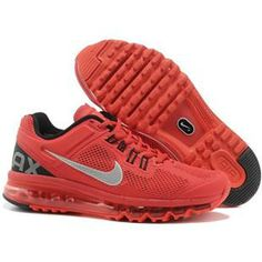 http://www.asneakers4u.com/ Discount Nike air max 2013 for sale mens&womens shoes red