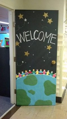 Puerta de bienvenida