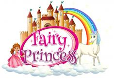 Font design for word fairy princess with unicorn and princess , Baby Unicorn, Unicorn Art, Cute Unicorn, Princess Cartoon, Cute Princess, Unicorn Princess, Girl Cartoon, Font Gratis, Cute Little Baby Girl