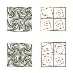 paradox -original zentangle pattern  | followpics.co