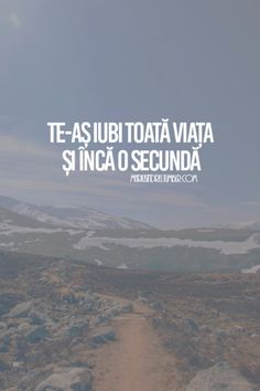 Te-as iubi toata viata+ 1 secunda. Motivational Words, Inspirational Quotes, Book Quotes, Life Quotes, Love Conquers All, Drawing Quotes, My Only Love, Son Luna, Messages