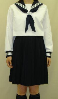 SN29合服長袖セーラー服ネクタイ通し刺繍入りスィン○ガールズタイプ【楽天市場】