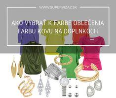 Ako vybrať k farbe oblečenia farbu kovu na doplnkoch - Supervizáž Polyvore, Image, Fashion, Moda, Fashion Styles, Fashion Illustrations