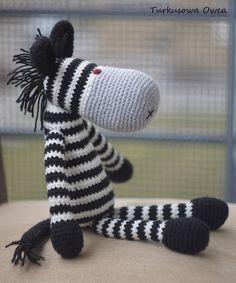 Amigurumi crochet and zebras on pinterest amigurumi pattern zebra crochet gift cebra turkusowa owca dt1010fo