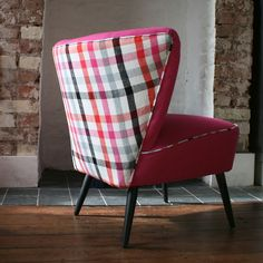 Gorgeous re-loved chair from Hickey and Dobson Cocktail Chair, Teak, Love Seat, Upholstery, Mid Century, Chairs, Interior, Refurbishment, Beautiful Things