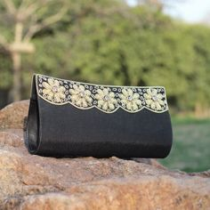 http://www.banyancraft.com/collections/necklaces/products/necklace-158 Golden Flowe Clutch #handmade #buydesignerclutchesonline #germany #fashion #style #india