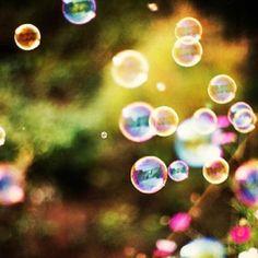 Bubbles!  Always make me happy.