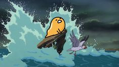 Gudetama as the little mermaid This is the first gudetama-photoshopped-into-movies picture that I did and I am out of Control original photos not mine